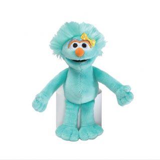 "Sesame Street Rosita Beanbag 7"" Gund Plush New Kids"