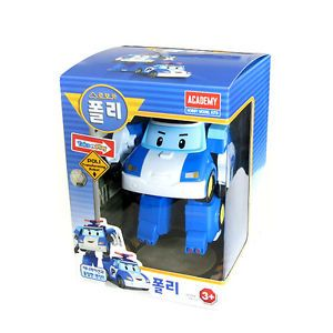 Toys Korea Animation Robot Car Poly Character Transform Figure for Kids Poly