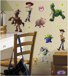 Toy Story 3 Glow in The Dark 34 Wall Stickers Decal Decor Room by RoomMates