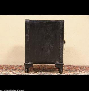 Victor 1904 Antique Cast Iron Combination Safe
