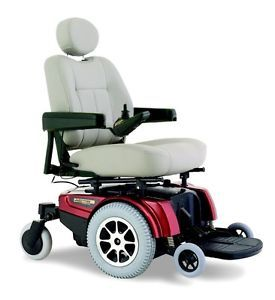 Invacare M51 Pronto Power Mobility Wheelchair Available in Red or Blue