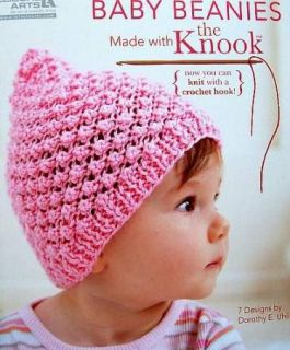 Knit Baby Beanies with The Knook New Knit with A Crochet Hook La