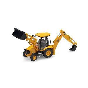 Motorart Construction Die Cast 1 50 O Scale JCB Backhoe Loader Collectible Toys