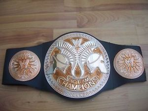Mattel WWE World Tag Team Championship Title Kids Toy Belt Wrestling