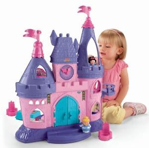 Disney Princess Castle Games Dollhouses Dolls Toys Accessories Toy Gift Kids