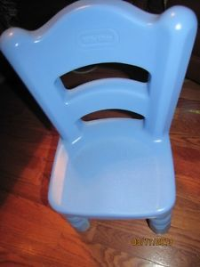 Little Tikes Blue Victorian Chair for Tender Heart Table