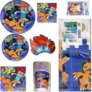 Digital Digimon Monsters Birthday Party Supplies Create Your Set You Pick