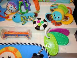 18 Baby Toys Einstein Sassy Eric Carle Fisher Price Precious Planet Day Care Lot