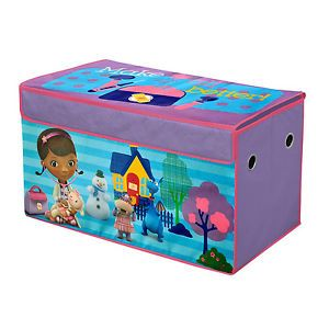 Disney Doc McStuffins Toy Doll Bin Storage Organizer Kids Play Room Furniture