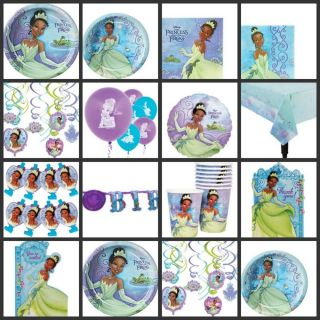 Princess and The Frog Birthday Party Supplies You Pick Choose Your Own Set Kit