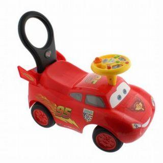 Disney Pixar Cars 2 My Lightning McQueen Activity Racer Children Kids Toy Lights