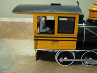 Bachmann 177 Steam Engine Tender Car Train G Scale