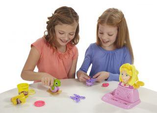 Hasbro Kid Play Doh Disney Princess Rapunzel Hair Designs Playset Toy