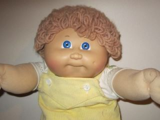 Vintage 1985 80's Cabbage Patch Kids Boy Doll Original Elephant Outfit Diaper