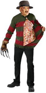 Adult Freddy Krueger Nightmare Elm St Costume NIP 44 46