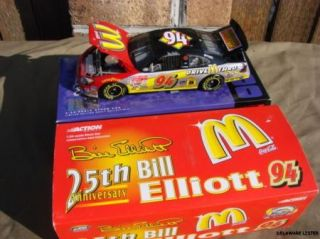 NASCAR 94 McDonalds 25th Anniversary Ford 1 24 Scale Action Racing Car New