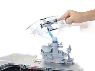 Mattel Y3155 Disney Planes Yorkie Aircraft Carrier Playset