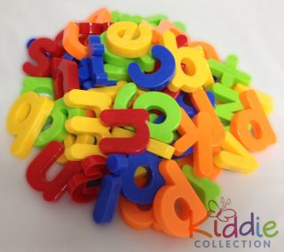 "First Classroom 104 Magnetic Upper Lower Case Alphabet Letters 1 5"" New"