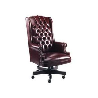 Alera Traditional Series Chair Oxblood Burgundy Vinyl Upholstery Ale CE41VY31MY
