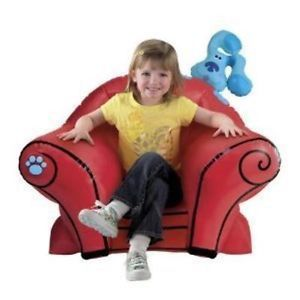 New Nick Jrs Blues Clues Musical Thinking Chair Toy Kids Children Play Game Gift
