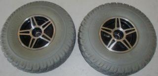 Electric Wheelchair Tires Rims Jet 3