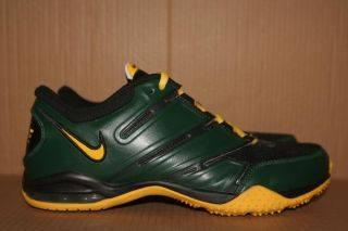 Oregon Ducks O ID Nike Zoom Air Max Sparq Free TR Trainer Running Shoe Men's 7