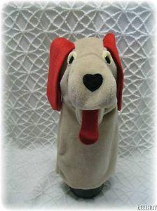 Baby Einstein PAVLOV Pup Full Body Hand Puppet Plush Toy Dog New