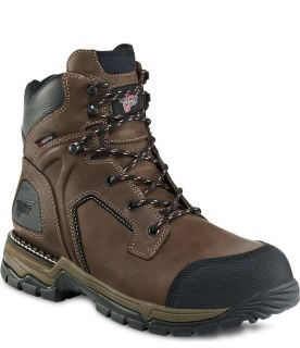 Red Wing Men's 6 inch Boot Safety Toe Waterproof Insulated Size 13D 4411