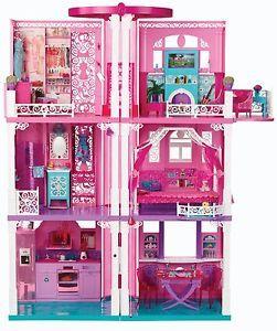 Barbie Dream House Doll House Super Super Cool Amazing Plus Free