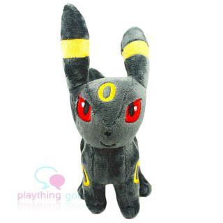 "6"" Cute Pokemon Umbreon Plush Soft Doll Kids Gift"