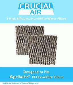 2 Aprilaire 10 Water Humidifier Filters Fit Models 110 220 500 550 558