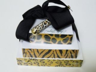 Lady Jayne Writer's Blocks Paper Cubes Joy Pen Gold Black Leopard Animal Prints