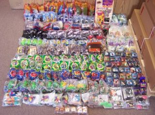 Huge Lot SEALED Burger King Kids Club Meal Vintage Toys Collection 1989 2002