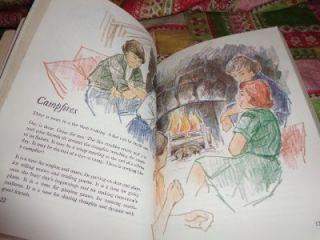 Vintage 1969 Junior GSA Girl Scout Handbook Large Softcover Book
