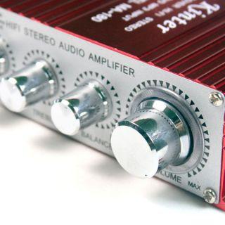 Super Mini Home Audio Stereo Sound Power Amplifier 12V