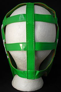 Rey Mysterio WWE Green Silver Kid Sized Replica Wrestling Half Mask