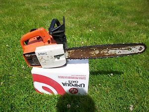 Vintage Stihl Chainsaw 015 Runs
