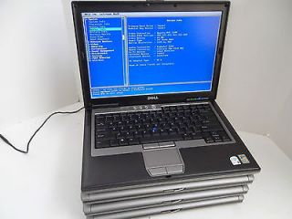 Lot 4 Dell Latitude Intel Core 2 Duo D630 D620 Wi Fi 1 6GHz 2 0GHz for Parts