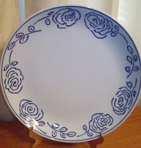 Blue and White Dinner Plates