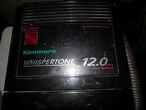 Kenmore Whispertone 12Amp Canister Vacuum Cleaner with Powerhead Model 116