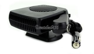 12V Vehicle Portable Ceramic Heating Cooling Heater Fan Defroster Demister GT56