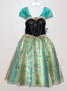 Disney Store Elsa's Ball Costume Frozen Anna Coronation Dress 9 10 Sold Out