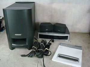 Bose 3 2 1 GS Series II DVD Player Home Theater System 321 Audio Receiver