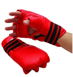 MMA Vinyl Gloves Cobra Chop Grappling Karate Child LG