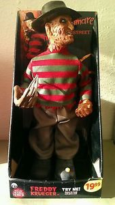 House of Horror Freddy Krueger Talking Moving Doll