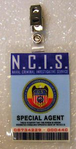 NCIS TV Series ID Badge Special Agent
