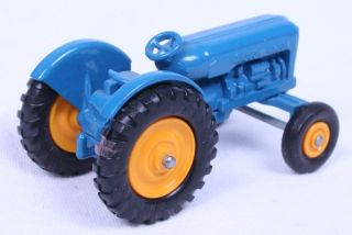 Details about Lesney Matchbox Fordson Tractor No. 72 Rare Yellow Hubs