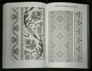 Book Hungarian Folk Embroidery Pattern Ethnic Costume Renaissance Design Slovak