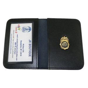 Dea Special Agent Family Member Leather ID Badge Wallet
