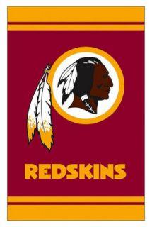 Washington Redskins NFL Football Fiber Optic Lighted Garden Size Flag